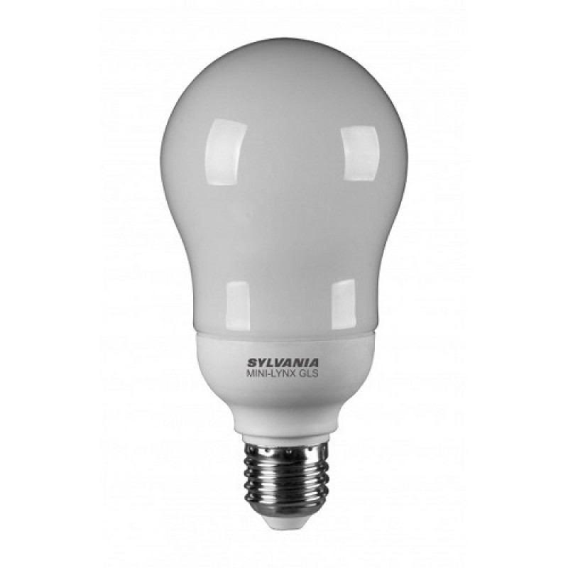 Sylvania MINI-LYNX GLS Spaarlamp E27 20W, 1200 lumen